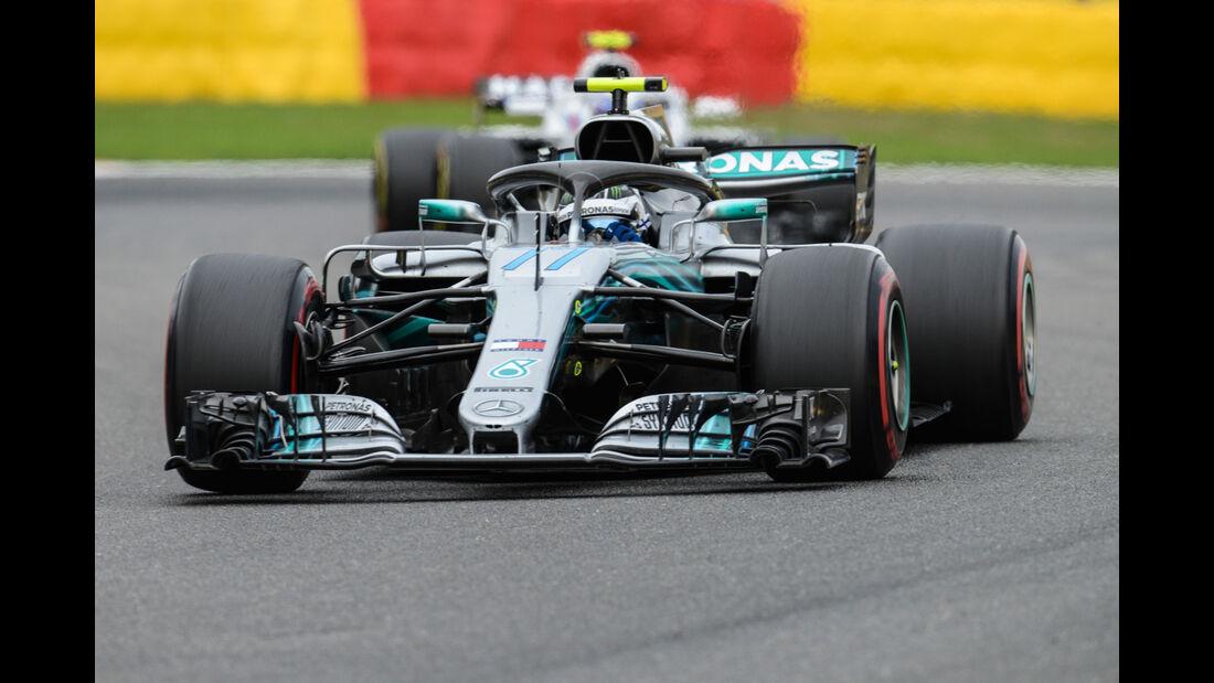 Valtteri Bottas - Mercedes - GP Belgien 2018 - Spa