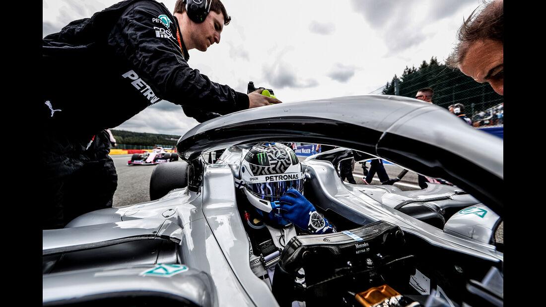Valtteri Bottas - Mercedes - GP Belgien 2019 - Spa-Francorchamps