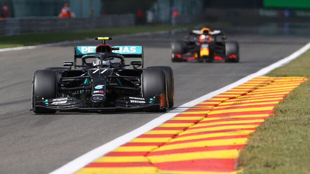 Valtteri Bottas - Mercedes - GP Belgien 2020 - Spa-Francorchamps