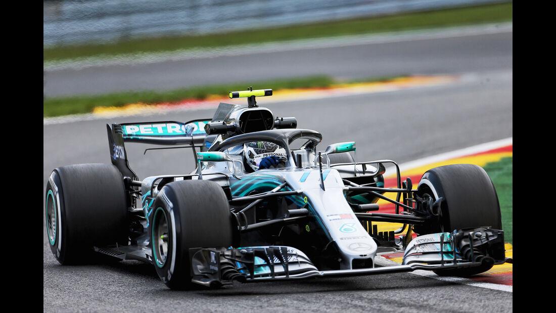 Valtteri Bottas - Mercedes - GP Belgien - Spa-Francorchamps - 24. August 2018