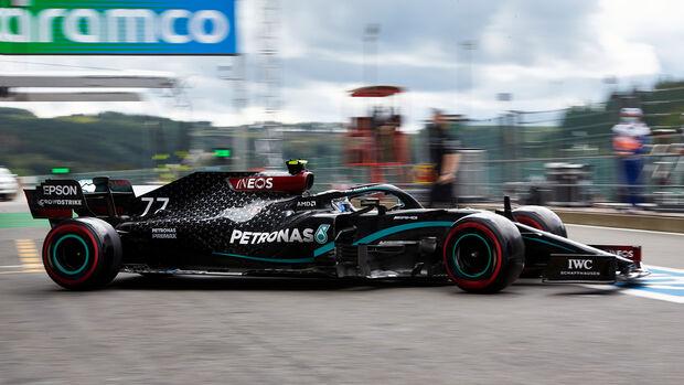 Valtteri Bottas - Mercedes - GP Belgien - Spa-Francorchamps - 29. August 2020