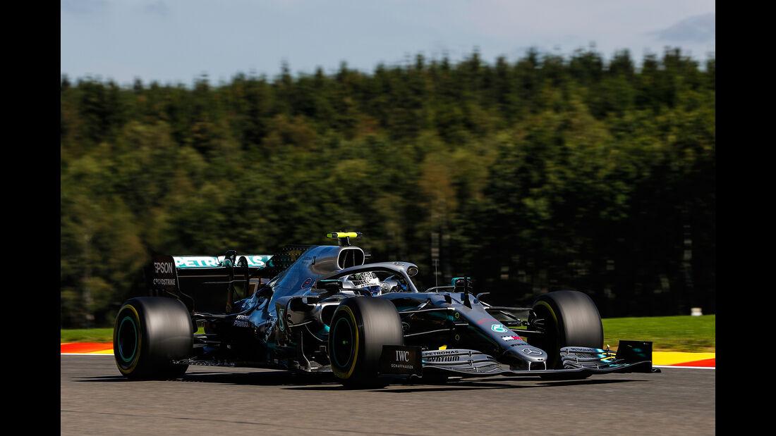 Valtteri Bottas - Mercedes - GP Belgien - Spa-Francorchamps - Formel 1 - Freitag - 30.08.2019