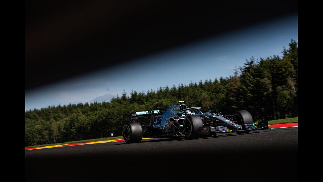 Valtteri Bottas - Mercedes - GP Belgien - Spa-Francorchamps - Formel 1 - Freitag - 30.8.2019