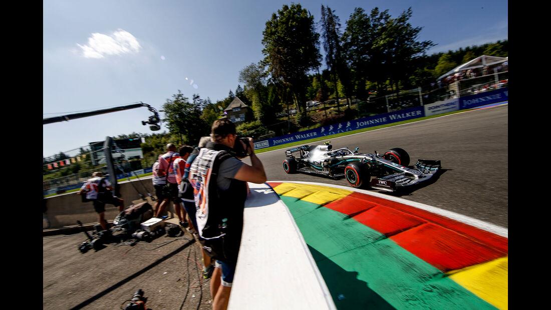 Valtteri Bottas - Mercedes - GP Belgien - Spa-Francorchamps - Formel 1 - Samstag - 31.8.2019