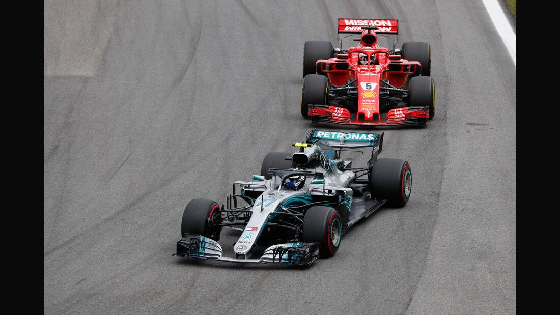 Valtteri Bottas - Mercedes - GP Brasilien 2018 - Rennen