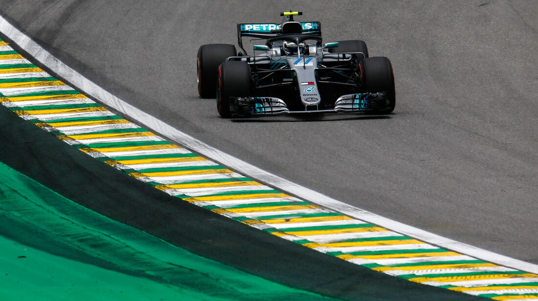 Valtteri Bottas - Mercedes - GP Brasilien - Interlagos - Formel 1 - Samstag - 10.11.2018