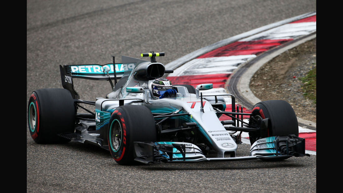 Valtteri Bottas - Mercedes- GP China 2017 - 3. Training