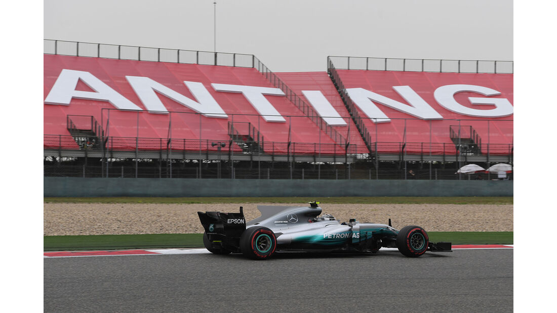 Valtteri Bottas - Mercedes -  GP China 2017 - Qualifying - 8.4.2017