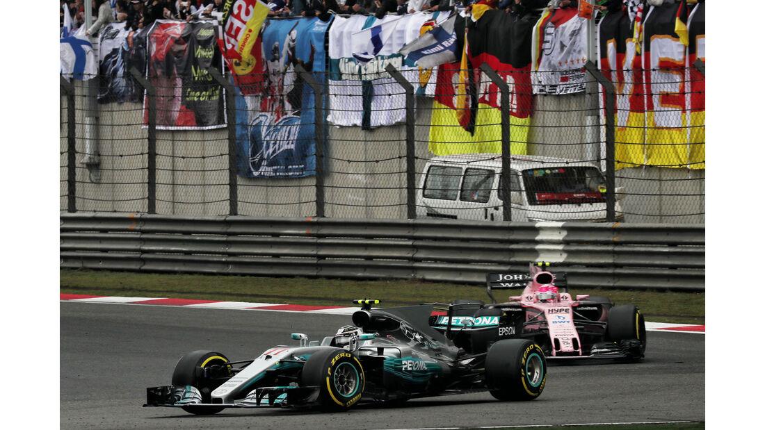 Valtteri Bottas - Mercedes - GP China 2017 - Shanghai - Rennen