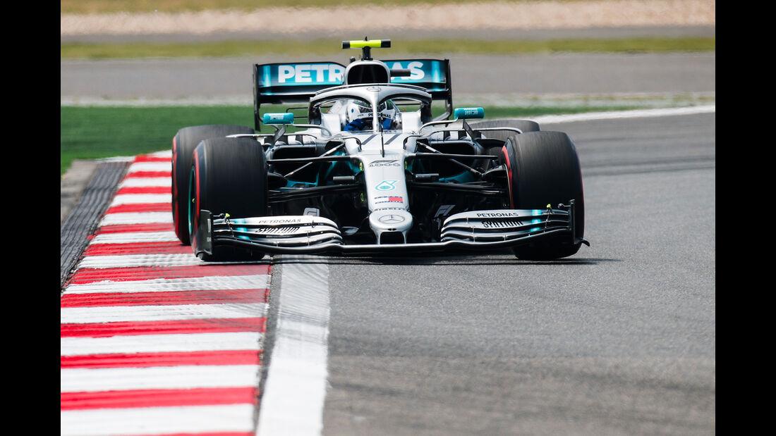 Valtteri Bottas - Mercedes - GP China - Shanghai - Formel 1 - Freitag - 12.4.2019
