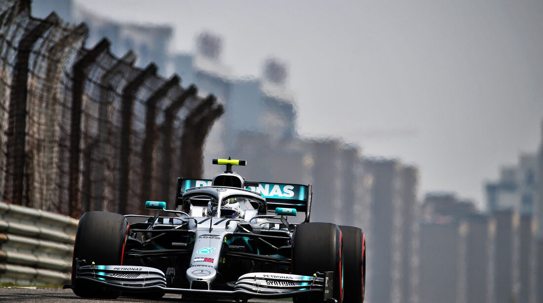 Valtteri Bottas - Mercedes - GP China - Shanghai - Formel 1 - Freitag - 12.4.2019