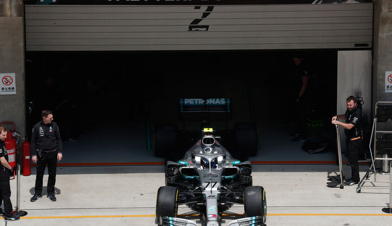 Valtteri Bottas - Mercedes - GP China - Shanghai - Samstag - 13.4.2019