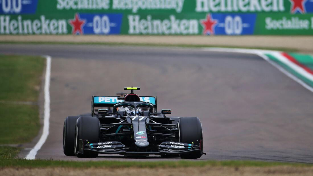 Valtteri Bottas - Mercedes - GP Emilia-Romagna 2020 - Imola - Rennen