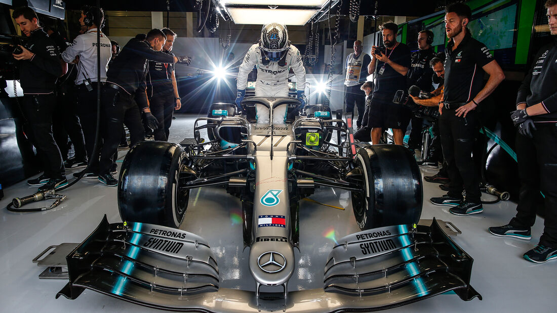 Valtteri Bottas - Mercedes - GP England 2019