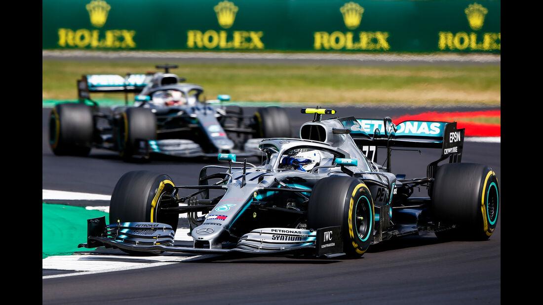 Valtteri Bottas - Mercedes - GP England 2019 - Silverstone - Rennen