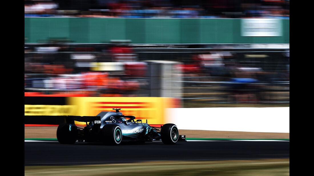 Valtteri Bottas - Mercedes - GP England - Silverstone - Formel 1 - Freitag - 6.7.2018