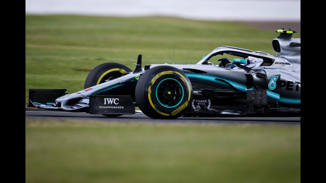 Valtteri Bottas - Mercedes - GP England - Silverstone - Freitag - 12.7.2019