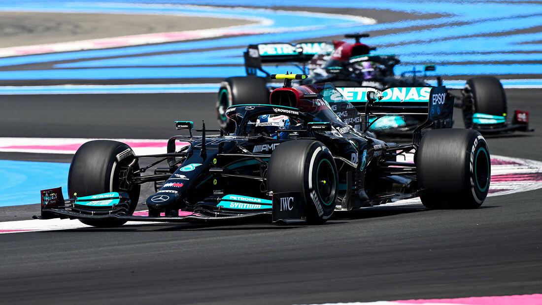 Valtteri Bottas - Mercedes - GP Frankreich - Le Castellet - Paul Ricard Circuit - 18. Juni 2021