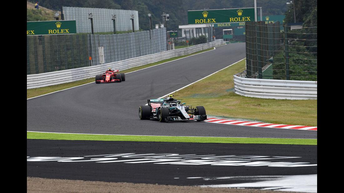 Valtteri Bottas - Mercedes - GP Japan - Suzuka - Formel 1 - Freitag - 5.10.2018