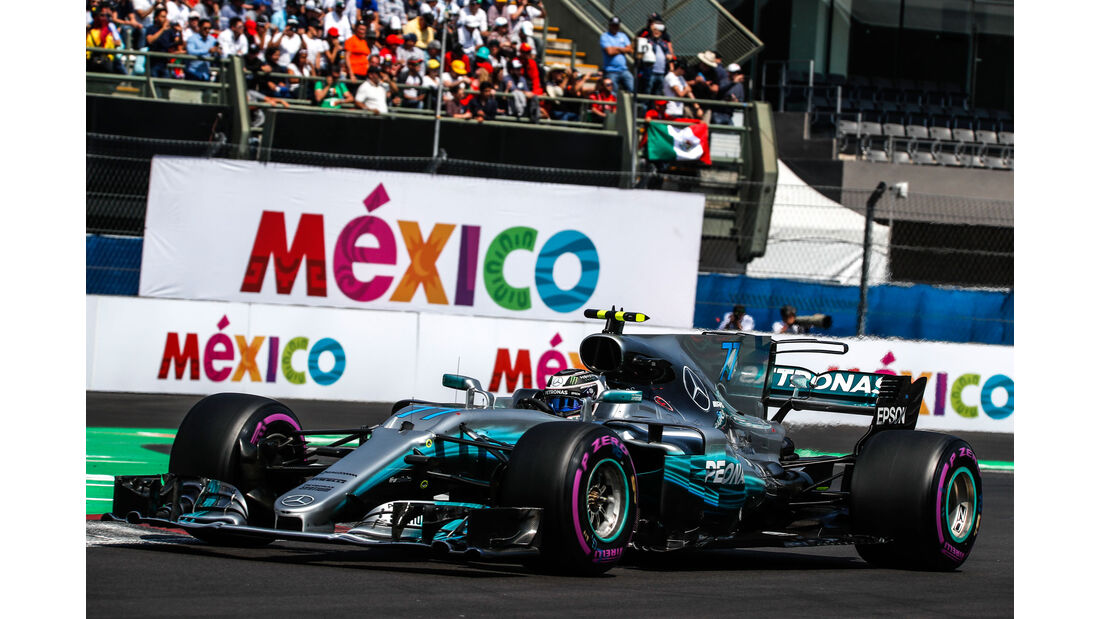 Valtteri Bottas - Mercedes - GP Mexiko 2017 - Qualifying