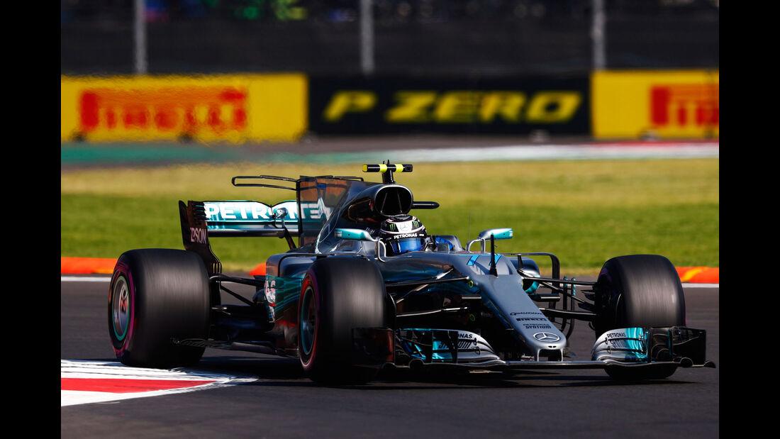 Valtteri Bottas - Mercedes - GP Mexiko - Formel 1 - Freitag - 27.10.2017