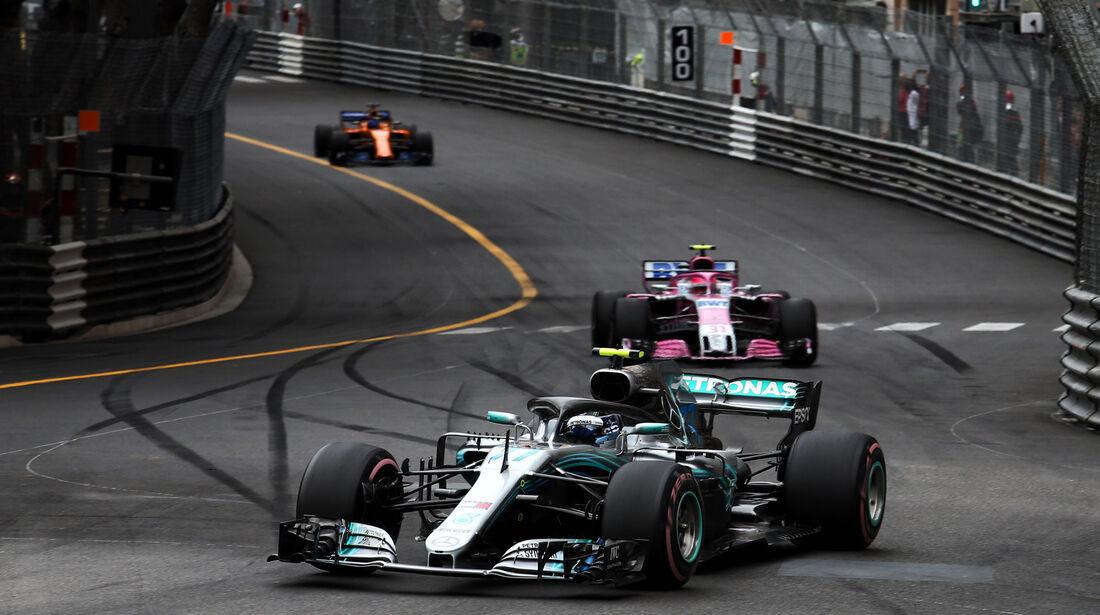 Valtteri Bottas - Mercedes - GP Monaco 2018 - Rennen