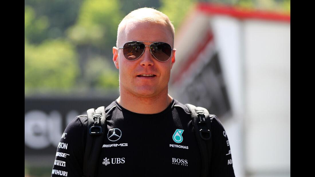 Valtteri Bottas - Mercedes - GP Monaco - Formel 1 - 14. Mai 2017