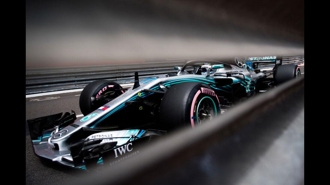 Valtteri Bottas - Mercedes - GP Monaco - Formel 1 - Donnerstag - 24.5.2018