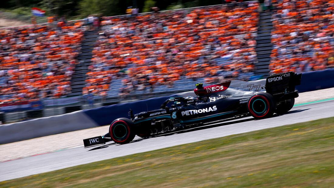 Valtteri Bottas - Mercedes - GP Österreich 2021 - Spielberg - Qualifikation