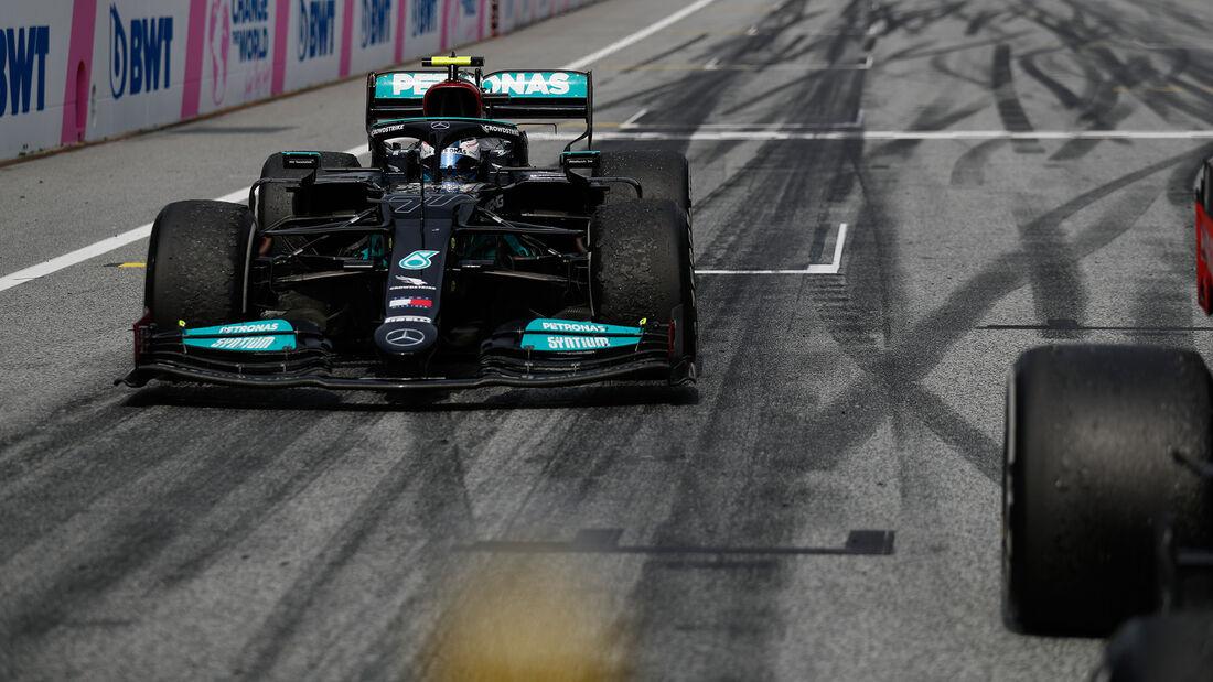 Valtteri Bottas - Mercedes - GP Österreich 2021 - Spielberg - Rennen