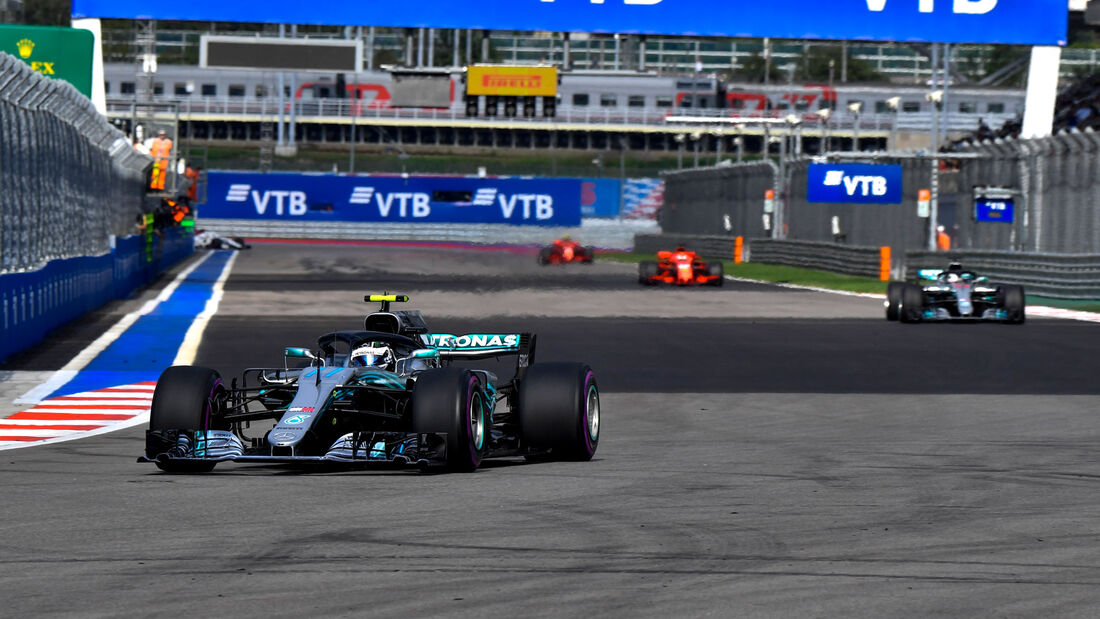 Valtteri Bottas - Mercedes - GP Russland 2018