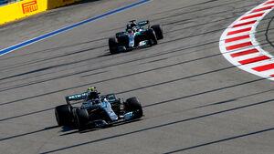 Valtteri Bottas - Mercedes - GP Russland 2018 - Sotschi - Qualifying