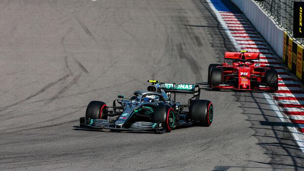 Valtteri Bottas - Mercedes - GP Russland 2019 - Sochi Autodrom - Rennen