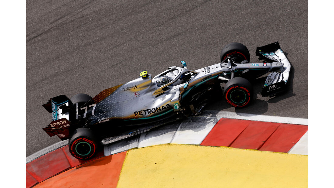Valtteri Bottas - Mercedes - GP Russland 2019 - Sotschi - Qualifying