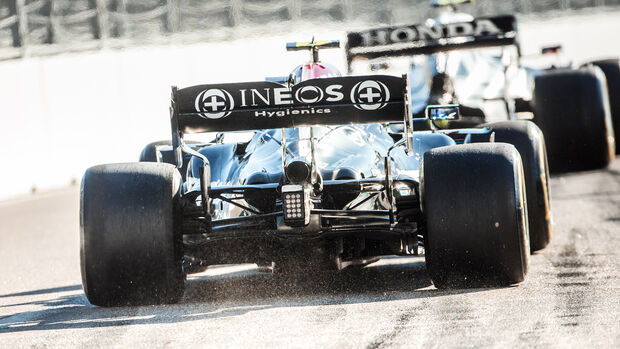 Valtteri Bottas - Mercedes - GP Russland.2021