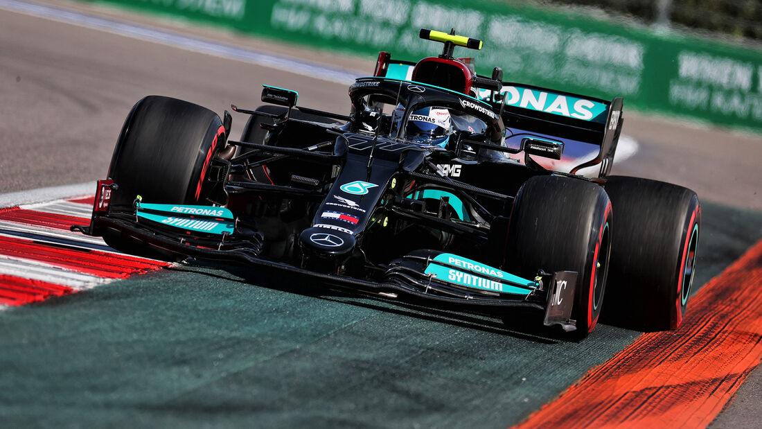 Valtteri Bottas - Mercedes - GP Russland 2021 - Sotschi