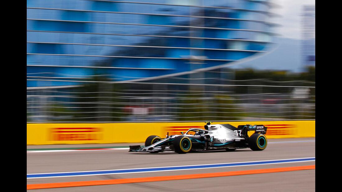 Valtteri Bottas - Mercedes - GP Russland - Sotschi - Formel 1 - Freitag - 27.9.2019