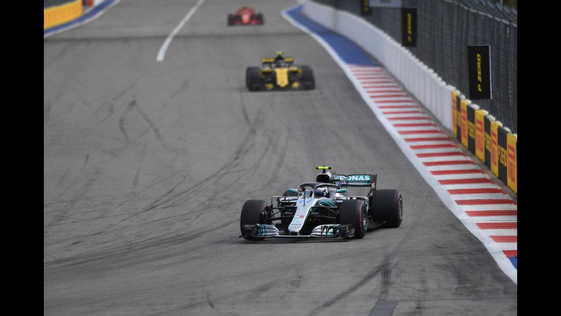Valtteri Bottas - Mercedes - GP Russland - Sotschi - Formel 1 - Freitag - 28.9.2018