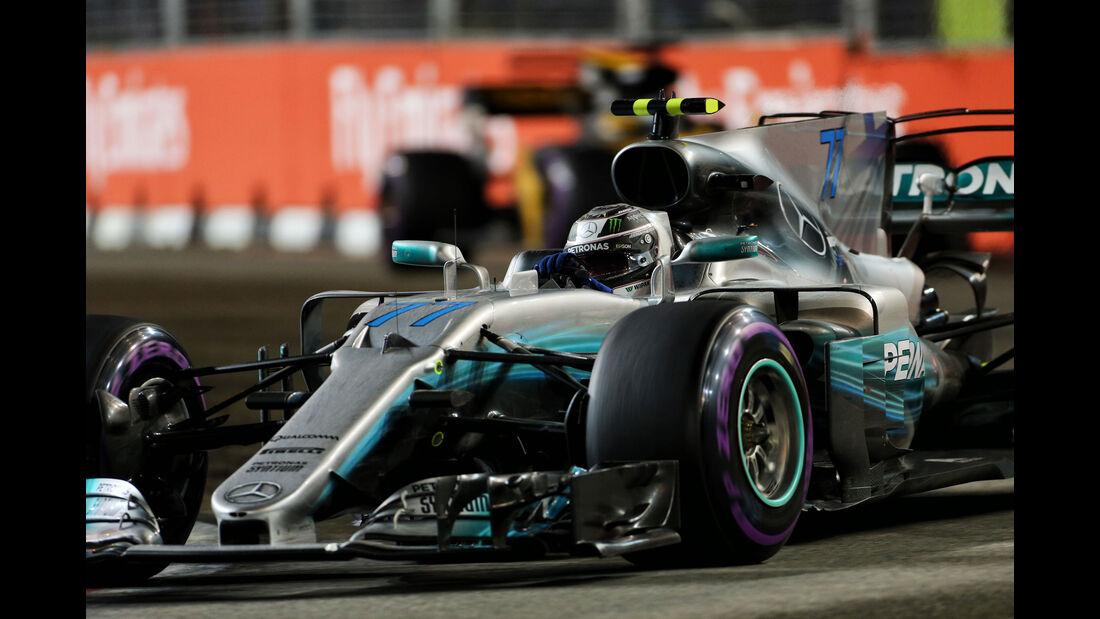 Valtteri Bottas - Mercedes - GP Singapur 2017 - Rennen