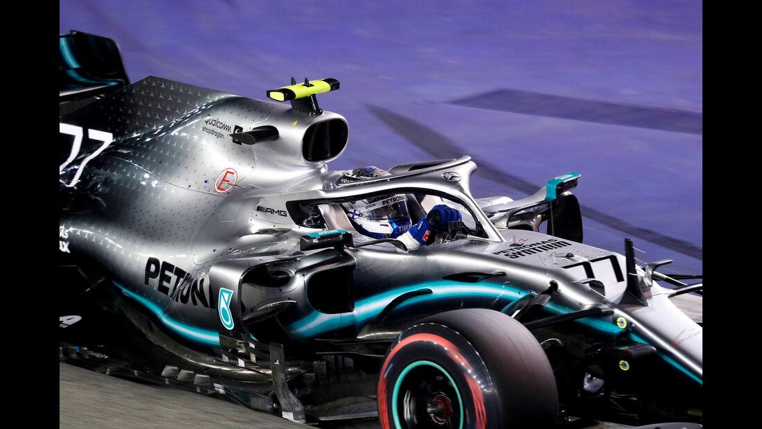 Valtteri Bottas - Mercedes - GP Singapur 2019 - Qualifying