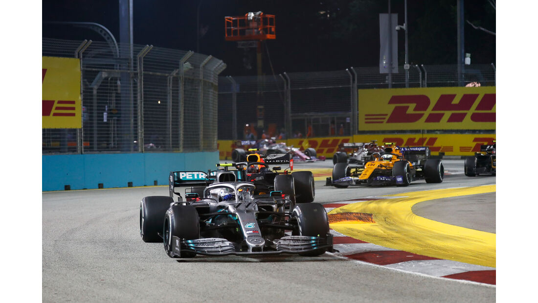 Valtteri Bottas - Mercedes - GP Singapur 2019 - Rennen