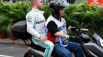 Valtteri Bottas - Mercedes - GP Singapur - Formel 1 - Freitag - 20.9.2019