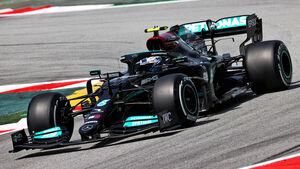 Valtteri Bottas - Mercedes - GP Spanien 2021 - Training