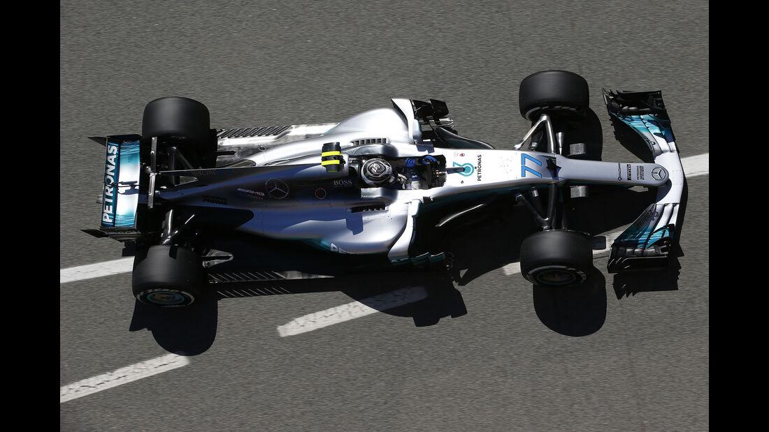 Valtteri Bottas - Mercedes - GP Spanien - Barcelona - 12. Mai 2017