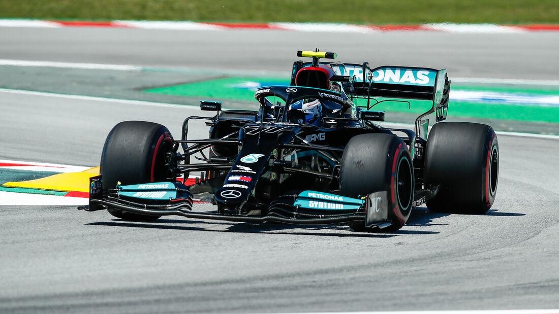 Valtteri Bottas - Mercedes - GP Spanien - Barcelona - Formel 1 - Samstag - 8.05.2021