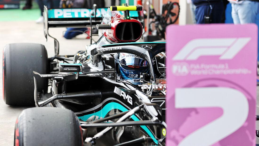 Valtteri Bottas - Mercedes - GP Türkei - Istanbul - Formel 1 - 9. Oktober 2021