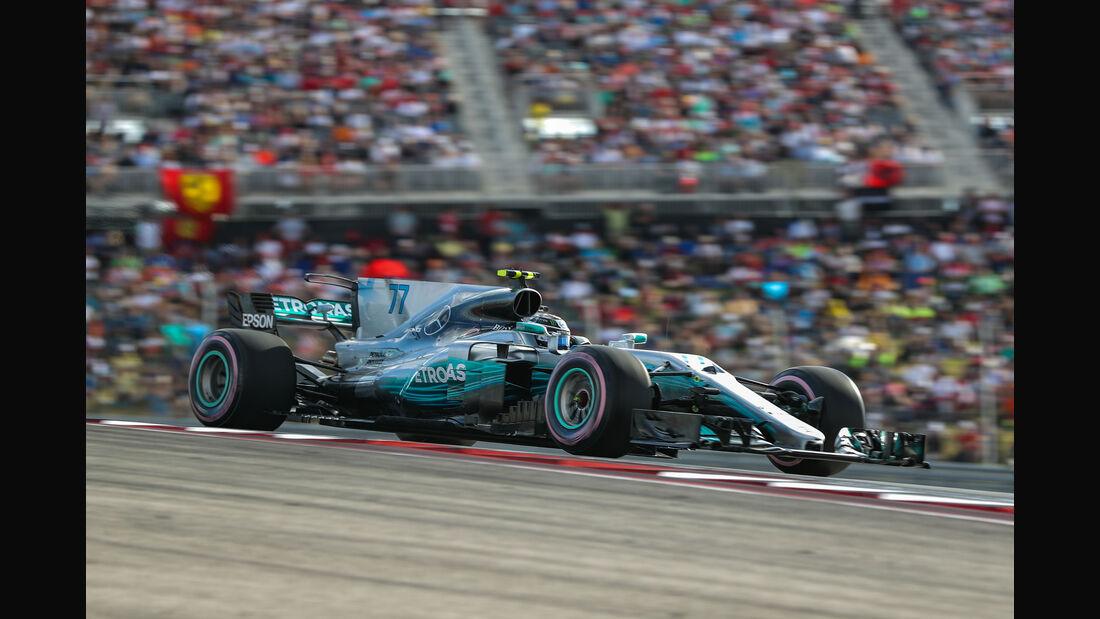 Valtteri Bottas - Mercedes - GP USA 2017 - Qualifying