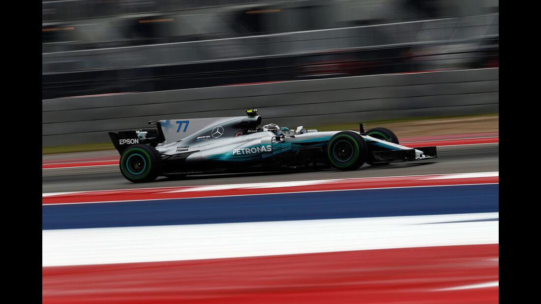 Valtteri Bottas - Mercedes - GP USA - Austin - Formel 1 - Freitag - 20.10.2017