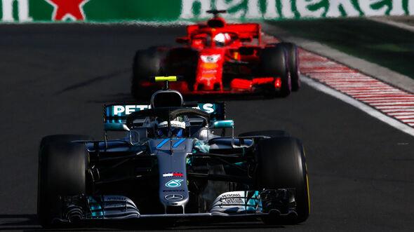 Valtteri Bottas - Mercedes - GP Ungarn 2018 - Budapest - Rennen