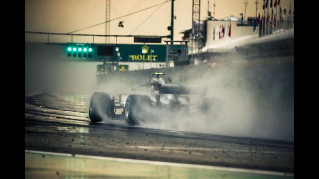 Valtteri Bottas - Mercedes - GP Ungarn 2018 - Qualifying